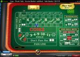 888Casino Craps table