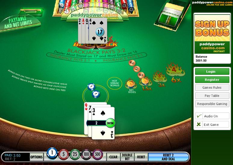 Paddy power games casino gambling tricks com