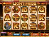 Red Flush Casino lions pride slot