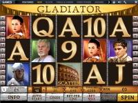 Vernons Casino Galdiator slot