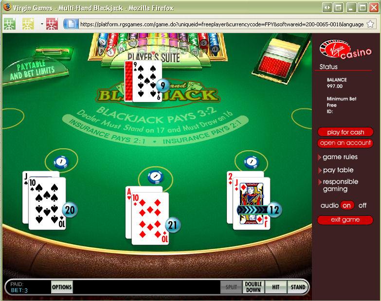 Virgin Casino Uk