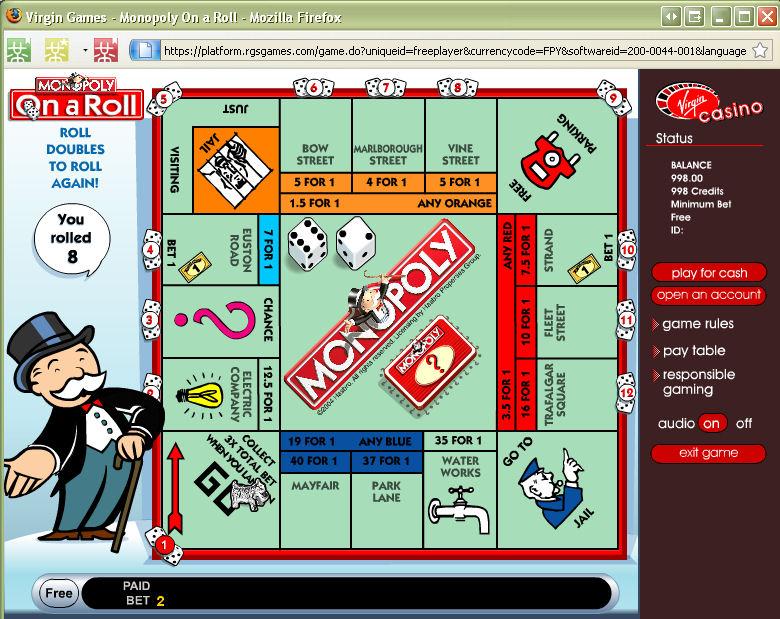 Monopoly casino board game 23277 web casino
