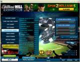 William Hill casino club lobby